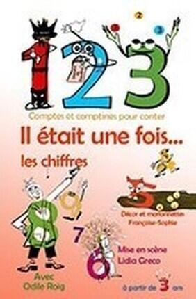 1, 2, 3 IL ETAIT 1 FOIS LES CHIFFRES