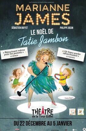 MARIANNE JAMES DANS LE NOEL DE TATIE JAMBON