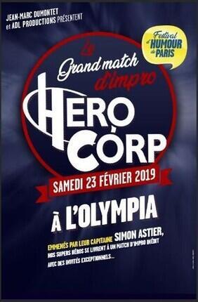 HERO CORP LE GRAND MATCH D'IMPRO - FESTIVAL D'HUMOUR DE PARIS