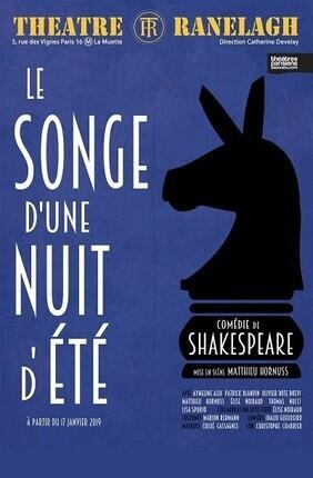 LE SONGE D'UNE NUIT D'ETE (Theatre Le Ranelagh)