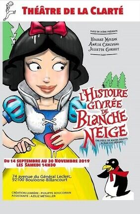 L'HISTOIRE GIVREE DE BLANCHE NEIGE AU THEATRE DE LA CLARTE
