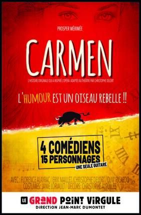 CARMEN L'HUMOUR EST UN OISEAU REBELLE !