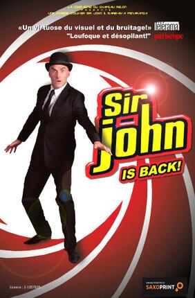 SIR JOHN IS BACK A BORDEAUX