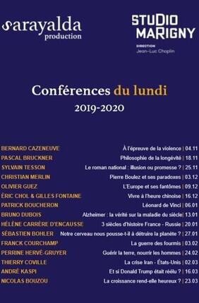 LES CONFERENCES DU LUNDI : PATRICK BOUCHERON Léonard de Vinci
