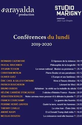 LES CONFERENCES DU LUNDI: HELENE CARRERE D'ENCAUSSE 3 siècles d'histoire France-Russie