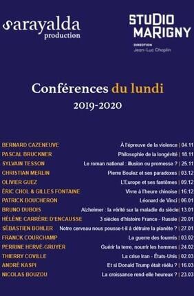 LES CONFERENCES DU LUNDI : FRANCK COURCHAMP La guerre des fourmis : miroir de la biodiversité et du réchauffement climatique