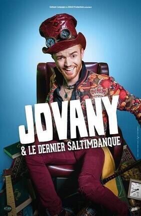 JOVANY DANS JOVANY & LE DERNIER SALTIMBANQUE  A ANGERS