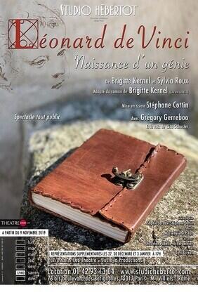 LEONARD DE VINCI, NAISSANCE D'UN GENIE AU STUDIO HEBERTOT