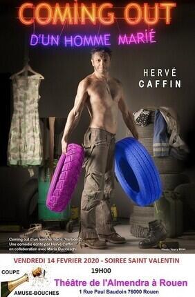 HERVE CAFFIN DANS COMING OUT D'UN HOMME MARIE A ROUEN