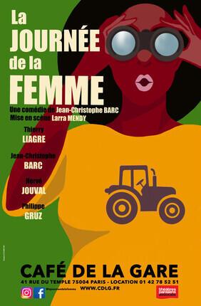 LA JOURNEE DE LA FEMME AU CAFE DE LA GARE