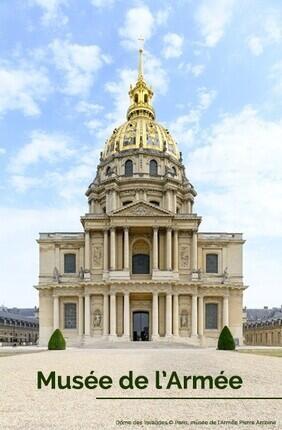 MUSEE DE L'ARMEE - INVALIDES : BILLET
