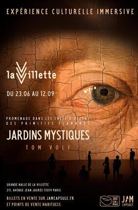 JARDINS MYSTIQUES PROMENADE DANS LES CHEFS D'OEUVRE DES PRIMITIFS FLAMANDS - FESTIVAL JAM CAPSULE