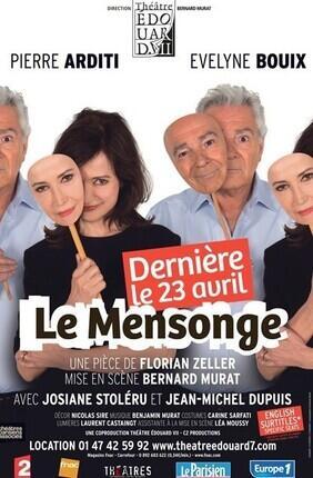 LE MENSONGE (Théâtre Edouard VII)