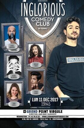 INGLORIOUS COMEDY CLUB (Le Grand Point-Virgule)