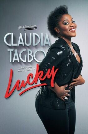 CLAUDIA TAGBO DANS LUCKY (Theatre de la Gaite Montparnasse)