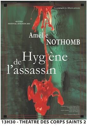 HYGIENE DE L'ASSASSIN DE AMELIE NOTHOMB