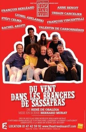 DU VENT DANS LES BRANCHES DE SASSAFRAS AVEC FRANCOIS BERLEAND