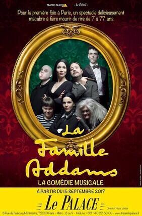 LA FAMILLE ADDAMS - LA COMEDIE MUSICALE