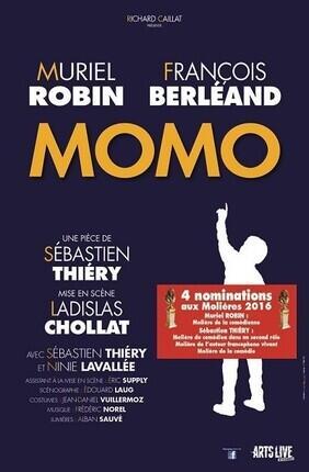 MOMO AVEC MURIEL ROBIN ET FRANCOIS BERLEAND (Saint Etienne)