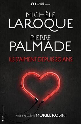 ILS S'AIMENT DEPUIS 20 ANS AVEC MICHELE LAROQUE, MURIEL ROBIN ET PIERRE PALMADE (Zenith de Paris)