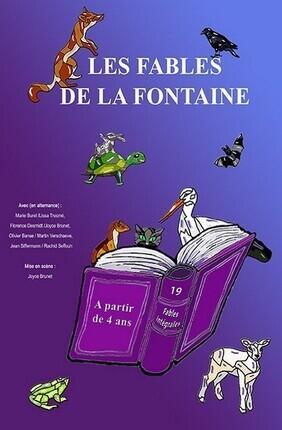 LES FABLES DE LA FONTAINE (A la Folie Theatre)