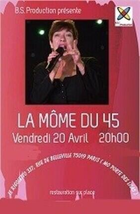LA MOME DU 45 EN CONCERT