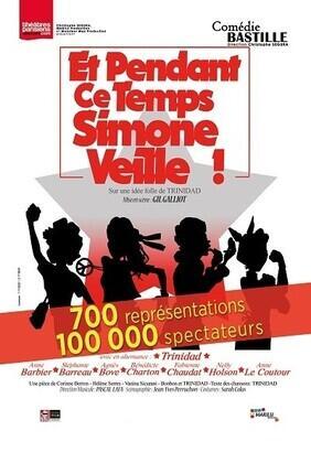 ET PENDANT CE TEMPS, SIMONE VEILLE ! - LE NOUVEAU A la Comedie Bastille