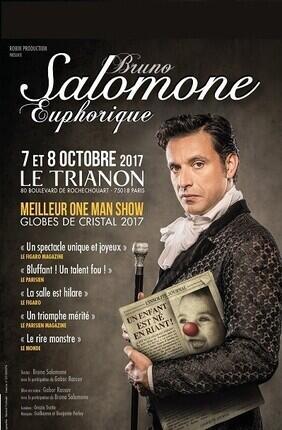 BRUNO SALOMONE DANS EUPHORIQUE (Le Trianon)
