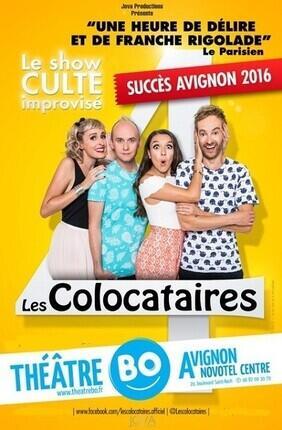 LES COLOCATAIRES (Theatre BO Avignon)