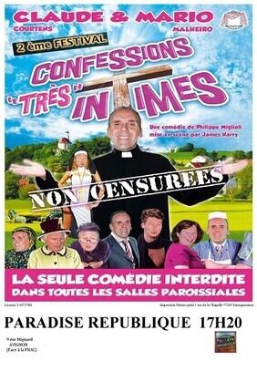 CONFESSIONS (TRES) INTIMES