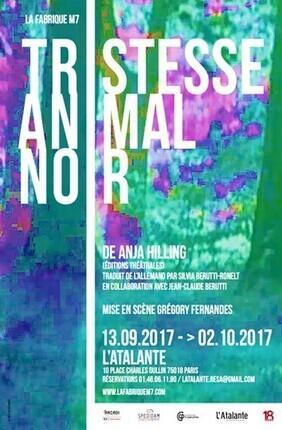TRISTESSE ANIMAL NOIR (L'Atalante)