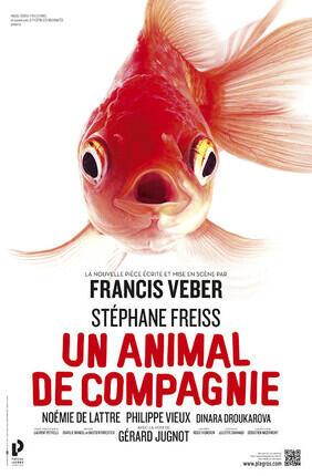 UN ANIMAL DE COMPAGNIE DE FRANCIS VEBER AVEC STEPHANE FREISS (Saint-Etienne)