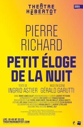 PETIT ELOGE DE LA NUIT AVEC PIERRE RICHARD