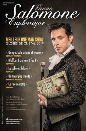 BRUNO SALOMONE DANS EUPHORIQUE - FESTIVAL PERFORMANCE D'ACTEUR (Cannes)