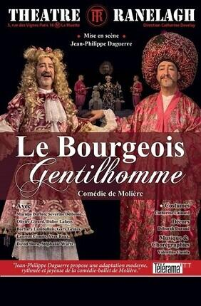 LE BOURGEOIS GENTILHOMME Au Theatre Le Ranelagh