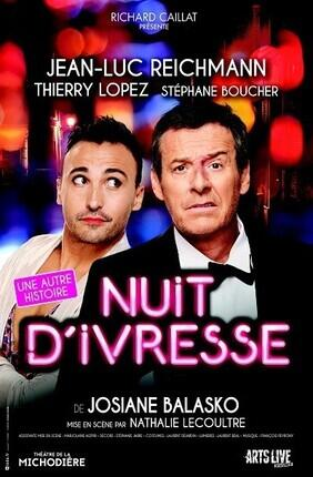 NUIT D'IVRESSE AVEC JEAN-LUC REICHMANN (Theatre du Casino)