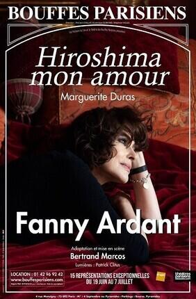 HIROSHIMA MON AMOUR AVEC FANNY ARDANT