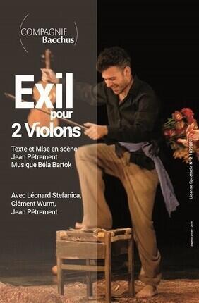 EXIL POUR 2 VIOLONS