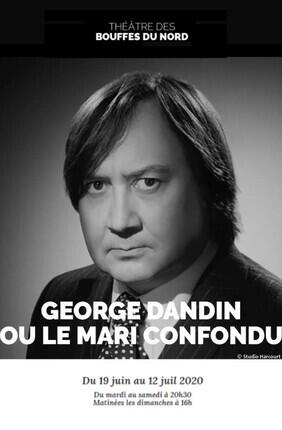 GEORGE DANDIN OU LE MARI CONFONDU AUX BOUFFES DU NORD AVEC MICHEL FAU