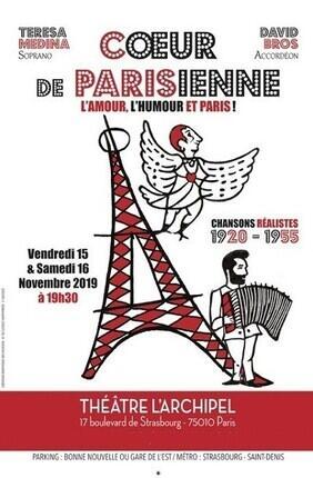 COEUR DE PARISIENNE