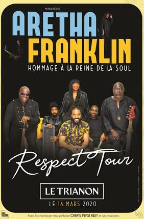RESPECT TOUR - HOMMAGE A ARETHA FRANKLIN