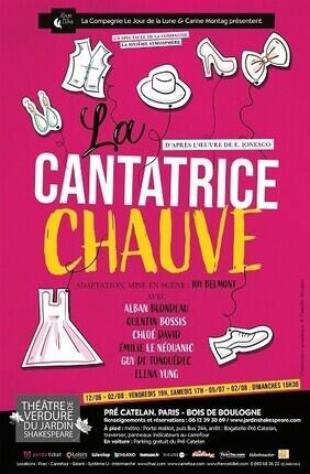 LA CANTATRICE CHAUVE THEATRE DE VERDURE - JARDIN SHAKESPEARE